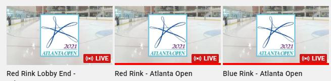 Live Streaming On Three Rinks!